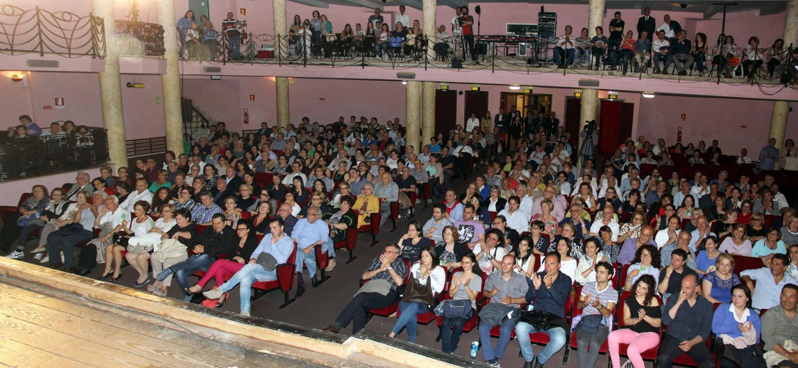 Pubblico al Siracusa