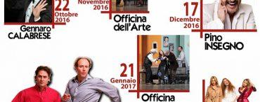 Officina dell'Arte – stagione teatrale 2016/2017