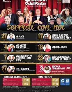 Cartellone Artistico Stagione Teatrale 2018/2019
