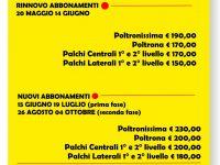 Campagna Abbonamenti Stagione Teatrale 2019/2020